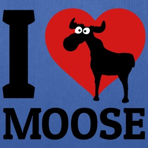 I love Moose Bags & backpacks - Tote Bag