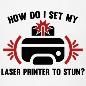 Laser Printer - Men's T-Shirt