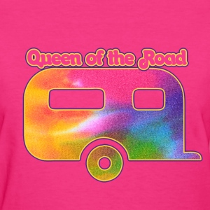 Queen of the vintage camper - Women's T-Shirt