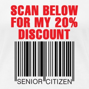 Senior Citizen Discount - Women's Premium T-Shirt