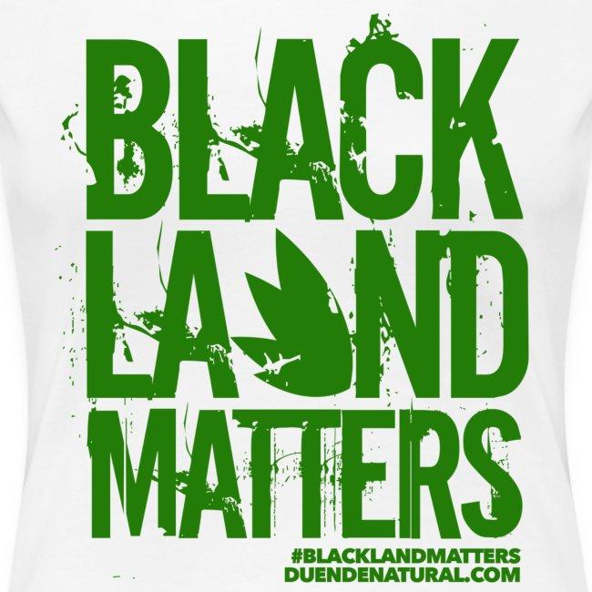 Duende #BlackLandMatters Ladies-Green