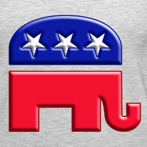 GOP elephant logo for republican - Women's Premium Tank Top