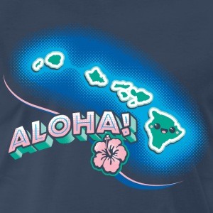 Hawaii Kawaii Cute Beach - Men's Premium T-Shirt