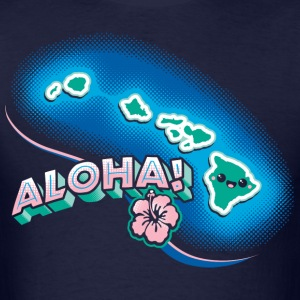 Hawaii Kawaii Cute Beach - Men's T-Shirt