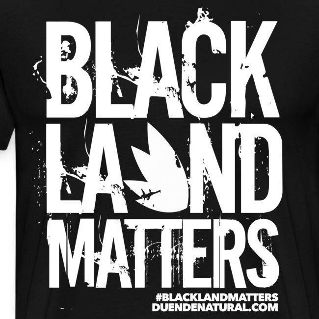 Duende #BlackLandMatters Men's-White