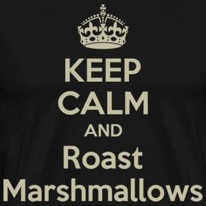 Keep Calm And Roast Marshmallows - Men's Premium T-Shirt