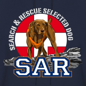 Search and Rescue Dog1 Hoodies - Men's Hoodie