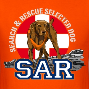 Search and Rescue Dog1 T-Shirts - Men's T-Shirt