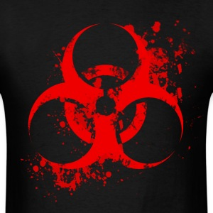 Bloody Biohazard T-Shirts - Men's T-Shirt
