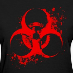 Bloody Biohazard Women's T-Shirts