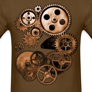 Steampunk Gears T-Shirts - Men's T-Shirt