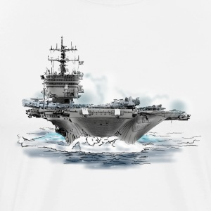 aircraft carrier T-Shirts - Men's Premium T-Shirt