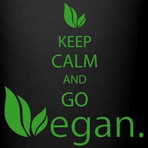 keep calm vegan Mugs & Drinkware - Full Color Mug
