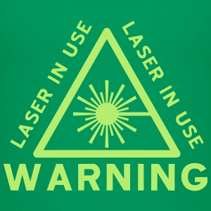 Laser Warning - Kids' Premium T-Shirt