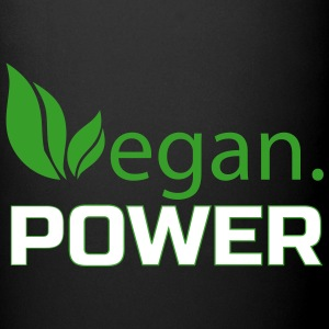 vegan power Mugs & Drinkware - Full Color Mug
