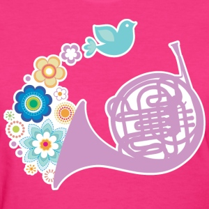 French Horn Pretty Gift Women's T-Shirts - Women's T-Shirt