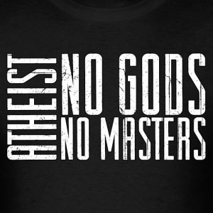 Atheist - No Masters - Men's T-Shirt
