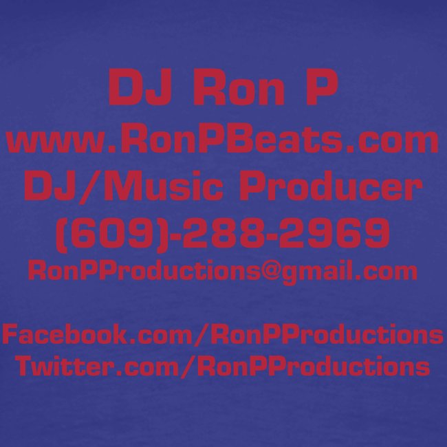 Ron P Productions Big & Tall Full Color