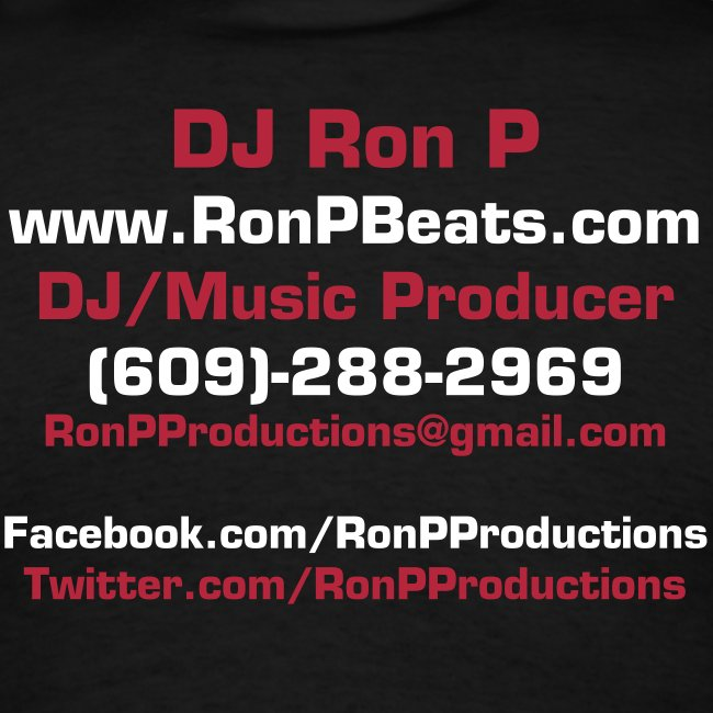 Black Ron P Productions Tee