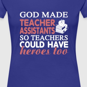 Teacher Assistant - Heroes - Women's Premium T-Shirt