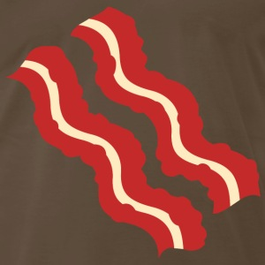 Bacon Strips Brown T-Shirt - Men's Premium T-Shirt