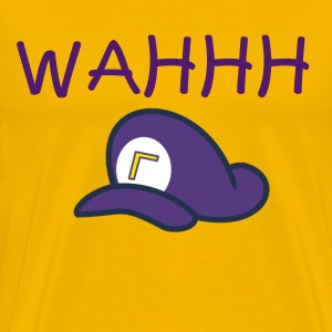 Wahhh Waluigi Time - Men's Premium T-Shirt