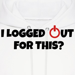 I logged out for this Hoodies - Men's Hoodie