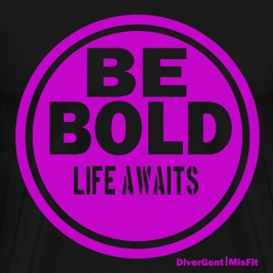 Be BOLD in Purple - Men's Premium T-Shirt