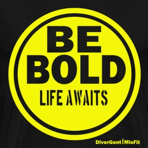 Be BOLD in Yellow - Men's Premium T-Shirt