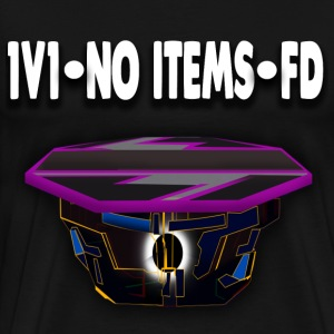 1v1-No Items-FD Mens T-Shirt (Black) - Men's Premium T-Shirt