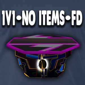 1v1-No Items-FD Mens T-Shirt (Navy) - Men's Premium T-Shirt