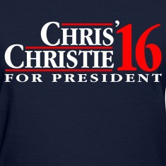 Chris Christie 2016 Women's T-Shirts