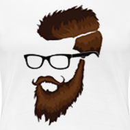 Design ~ DanQ8000 Beard Logo Shirt (No Letters)