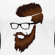 Design ~ DanQ8000 Beard Logo Shirt (No Letters)