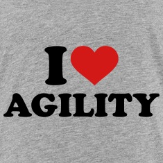 I love Agility Kids' Shirts
