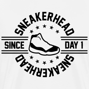 sneakerhead since day 1 T-Shirts - Men's Premium T-Shirt