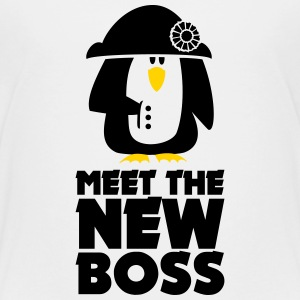 Boss Napoleon Penguin Bonaparte (2c) white T-Shirt - Toddler Premium T-Shirt