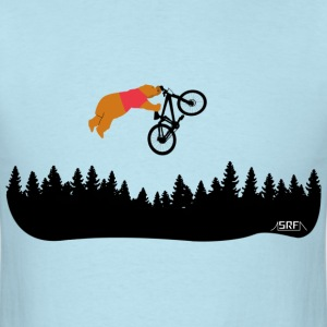 bear cub on bike T-Shirts - Men's T-Shirt