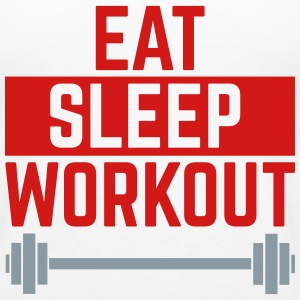 Eat Sleep Workout  Tanks - Women's Premium Tank Top