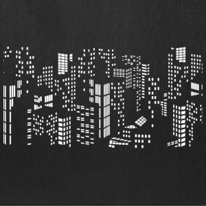 City skyline buildings - Tote Bag