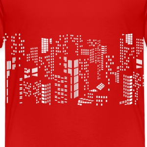 City skyline buildings - Toddler Premium T-Shirt