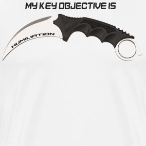 Karambit Humiliation - Men's Premium T-Shirt
