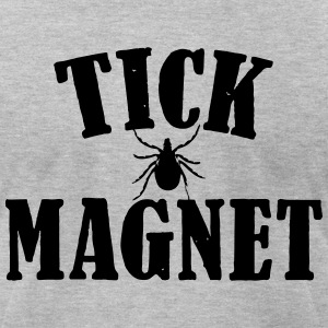 TICK MAGNET T-Shirts - Men's T-Shirt by American Apparel