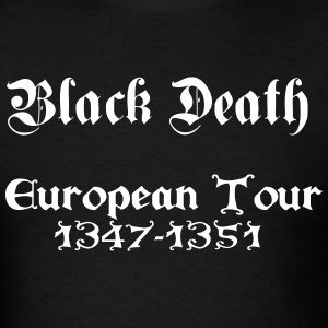 Black Death European Tour - Men's T-Shirt