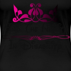 Find The Ability.png Women's T-Shirts - Women's Premium T-Shirt