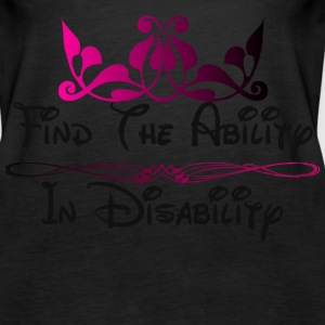 Find The Ability.png Tanks - Women's Premium Tank Top