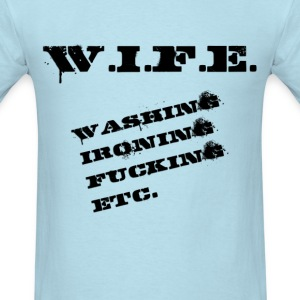 Definiton: Wife (1) - Men's T-Shirt