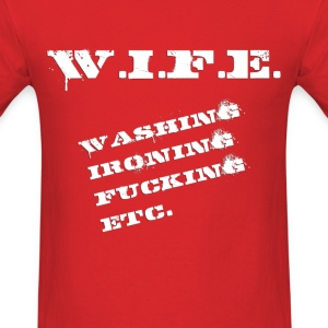 Definiton: Wife (2) - Men's T-Shirt