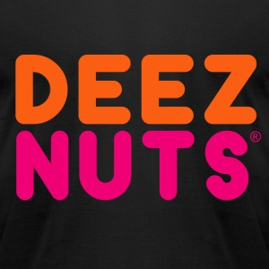 DEEZ NUTS T-Shirts - Men's T-Shirt by American Apparel