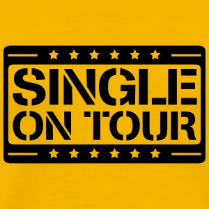 Single on tour design T-Shirts - Men's Premium T-Shirt